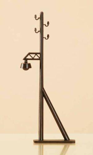 Auhagen 42632 <br/>Freileitungsmasten mit Lampenattrappe