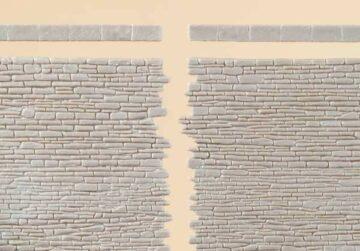 Auhagen 42649 <br/>Steinmauern mit Abschlusssteinen 1