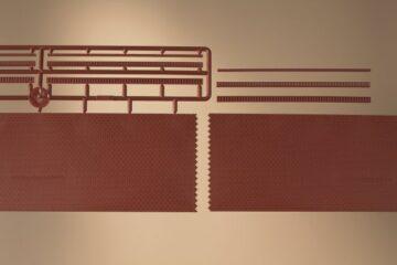 Auhagen 43658 <br/>Ziegelmauern mit Zahnfriesvarianten 1