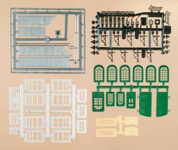Auhagen 48551 <br/>Bastel-Set für Industriegebäude 1