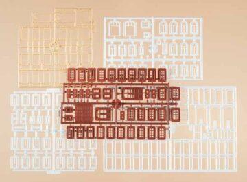 Auhagen 48648 <br/>Fenster, Fenstergewände, Türen  1