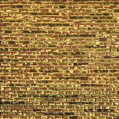 Auhagen 50101 <br/>Dekorpappen regelmäßiges Mauerwerk