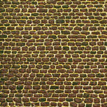 Auhagen 50102 <br/>Dekorpappen unregelmäßiges Mauerwerk 1