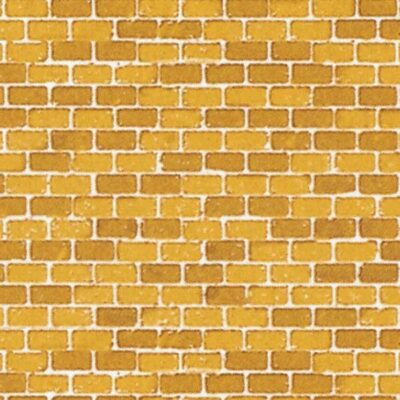 Auhagen 50110 <br/>Dekorpappen Ziegelmauer ocker