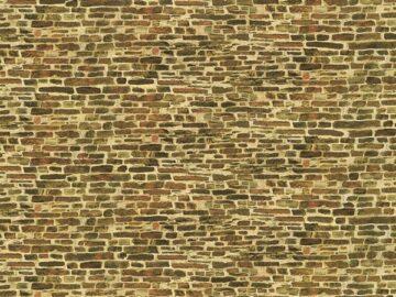 Auhagen 50116 <br/>Dekorpappen Kalksteinmauer klein 1