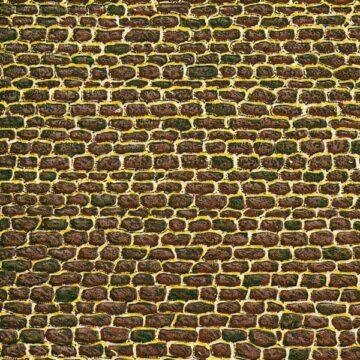 Auhagen 50502 <br/>Dekorpappe unregelmäßiges Mauerwerk lose 1