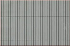 Auhagen 52433 <br/>Dekorplatte Trapezblech grau lose