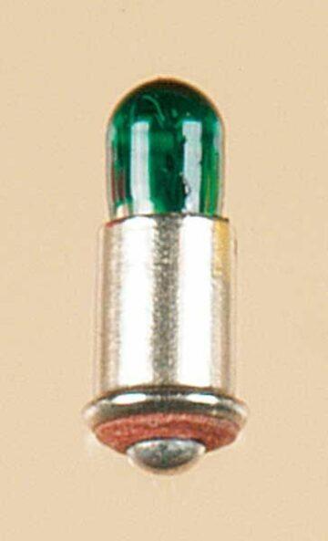 Auhagen 54737 <br/>Lampe mit Stecksockel grün lose, 1 Stück 1