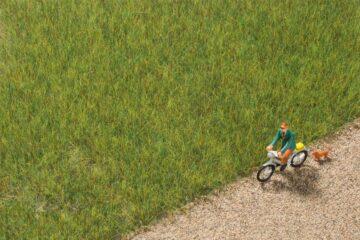 Auhagen 75611 <br/>Grasfasern mittelgrün 6,0 mm 1