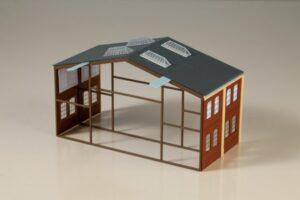 Auhagen 80100 <br/>Erweiterung Werkhalle