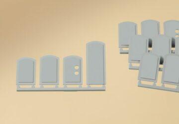 Auhagen 80207 <br/>Blindfenster geputzt  1