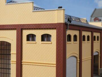 Auhagen 80215 <br/>Fenster M braun 1