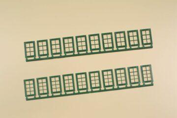 Auhagen 80224 <br/>Fenster Q, R grün 1