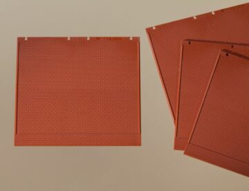 Auhagen 80500 <br/>Wände 2324A, rot 1