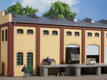Auhagen 80619 <br/>Wand 2410E, Wände 2410F, Wände 2410H gelb 1
