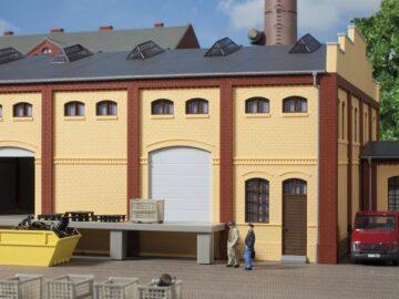 Auhagen 80620 <br/>Wand 2410A, Wände 2410B und Wände 2410D gelb 1