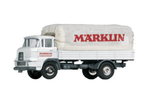 "Märklin 18036 <br/>Krupp Pritschen-LKW Frontlenkermit Planenaufbau ""Märklin Werksverkehr"""