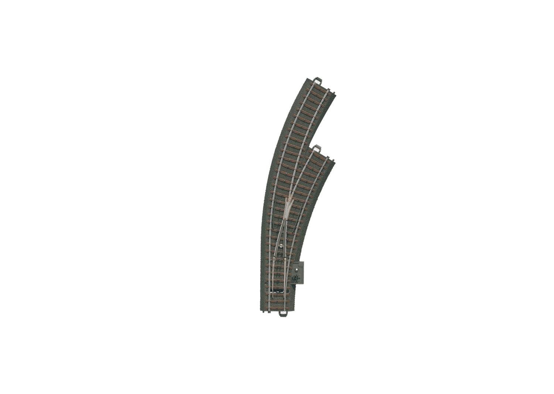 Märklin 20672 <br/>C-Gleis Bogenweiche rechts