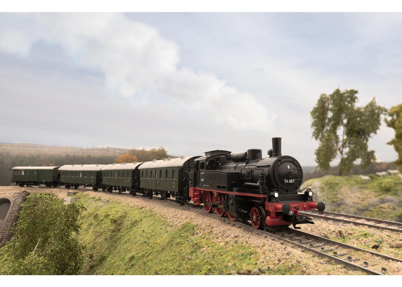 Märklin 36746 <br/>Dampflokomotive Baureihe 74 2