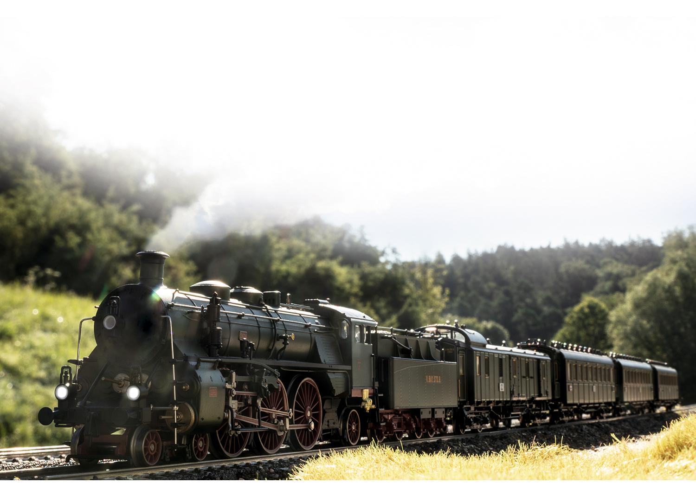 """Märklin 39436 <br/>Dampflokomotive Gattung S 3/6, die """"Hochhaxige"""" 3"""
