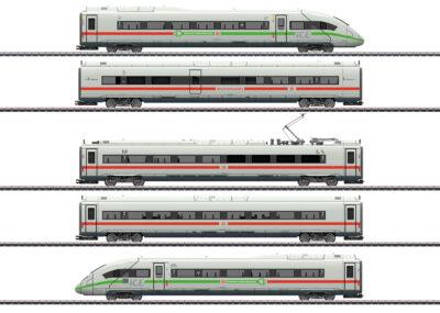 Märklin 39716 <br/>Triebwagenzug ICE 4 Baureihe 412/812 mit grünem Streifen