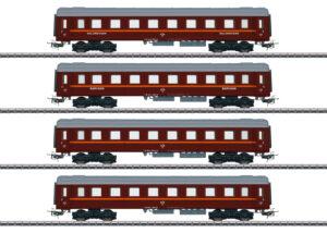 """Märklin 41921 <br/>Personenwagen-Set """"Tin Plate"""""""