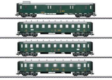 Märklin 42388 <br/>Schweizer Oldtimer-Personenwagenset 1