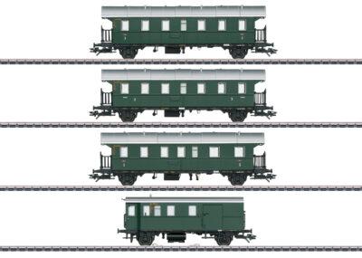 Märklin 43146 <br/>Personenwagen-Set mit Steuerwagen