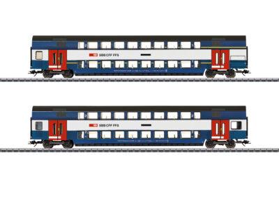 """Märklin 43574 <br/>Doppelstockwagen-Set """"Züricher S-Bahn"""""""