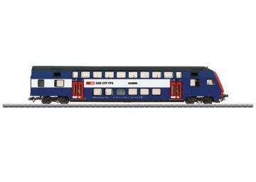 "Märklin 43575 <br/>Doppelstock-Steuerwagen ""Züricher S-Bahn"" 1"