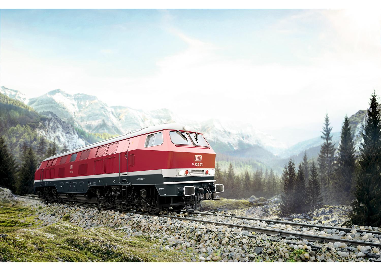 Märklin 55320 <br/>Diesellokomotive Baureihe V 320 3