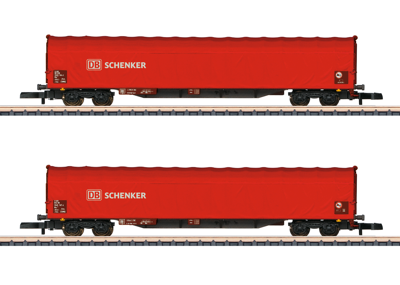 Märklin 82426 <br/>Schiebeplanenwagen-Set 2