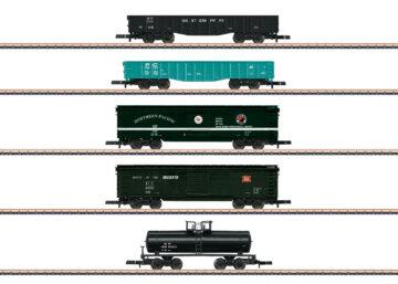 Märklin 82498 <br/>US Güterwagen-Set 1