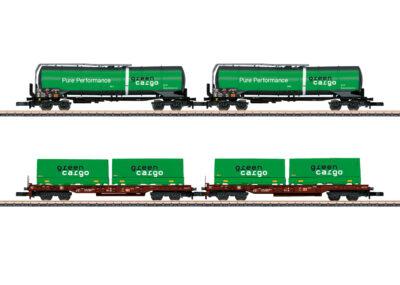 """Märklin 82533 <br/>Güterwagen-Set """"Green Cargo"""""""