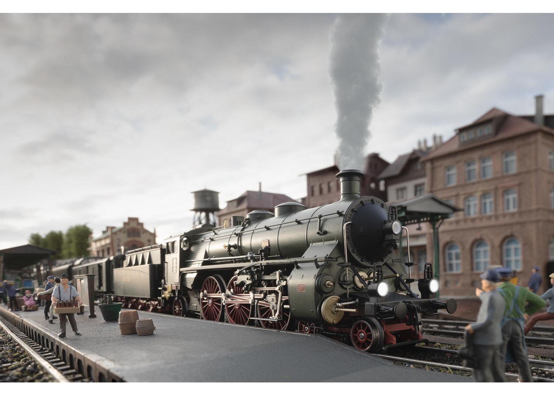 """TRIX 22403 <br/>Dampflokomotive S 3/6, die """"Hochhaxige"""" 3"""