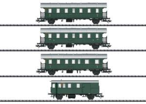TRIX 23456 <br/>Personenwagen-Set mit Steuerwagen