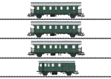 TRIX 23456 <br/>Personenwagen-Set mit Steuerwagen 1