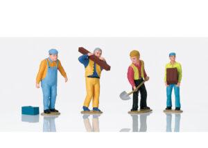 LGB 53005 <br/>Figurenset Arbeiter