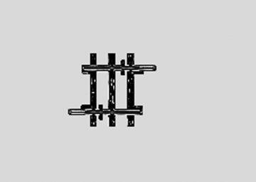 Märklin 2204 <br/>Gleis, gerade, 22,5 mm 1