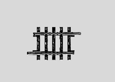 Märklin 2208 <br/>Gleis, gerade, 35,1 mm