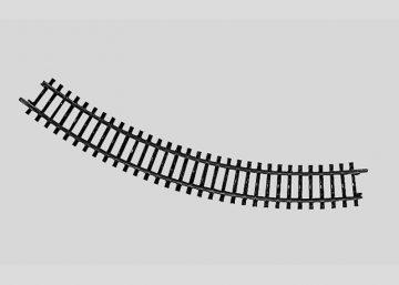 Märklin 2210 <br/>Gleis, gebogen, R 295,4 mm, 45° 1
