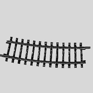 Märklin 2223 Gleis, gebogen, r 360 mm, 15°