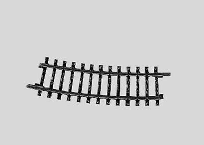 Märklin 2223 <br/>Gleis, gebogen, r 360 mm, 15°