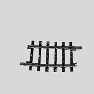 Märklin 2224 Gleis, gebogen, r 360 mm,7°30'