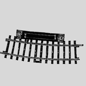Märklin 2229 Schalt-Gleis, gebogen, r360 mm,15°