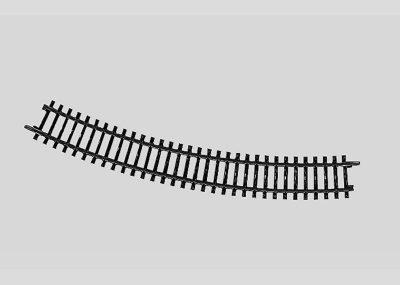 Märklin 2231 <br/>Gleis, gebogen, r 424,6 mm, 30°