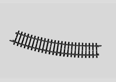 Märklin 2232 <br/>Gleis, gebogen, r 424,6 mm, 22°30'