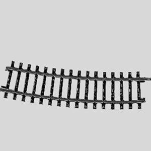 Märklin 2233 Gleis, gebogen, r 424,6 mm, 15°