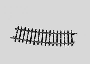 Märklin 2233 <br/>Gleis, gebogen, r 424,6 mm, 15° 1