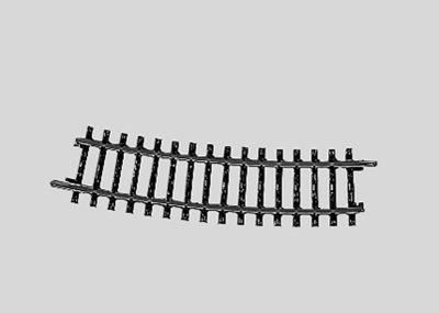 Märklin 2233 <br/>Gleis, gebogen, r 424,6 mm, 15°